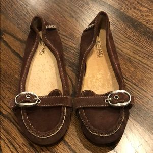 Michael Kors Shoes - Michael Kors brown loafers